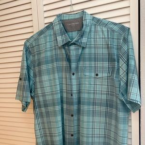 Calvin Klein Short Sleeve Button Down